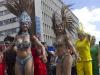 Brazilian Samba dancers wowed the crowd. PIC: Angela Jimu