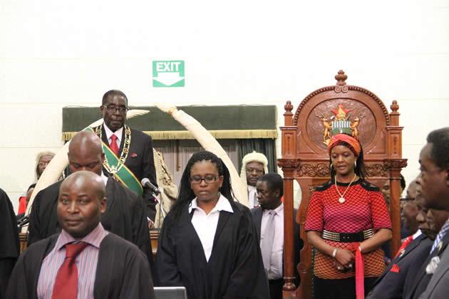 president-mugabe-flanked-by-first-lady-amai-grace-mugabe-before-addressing-parliament