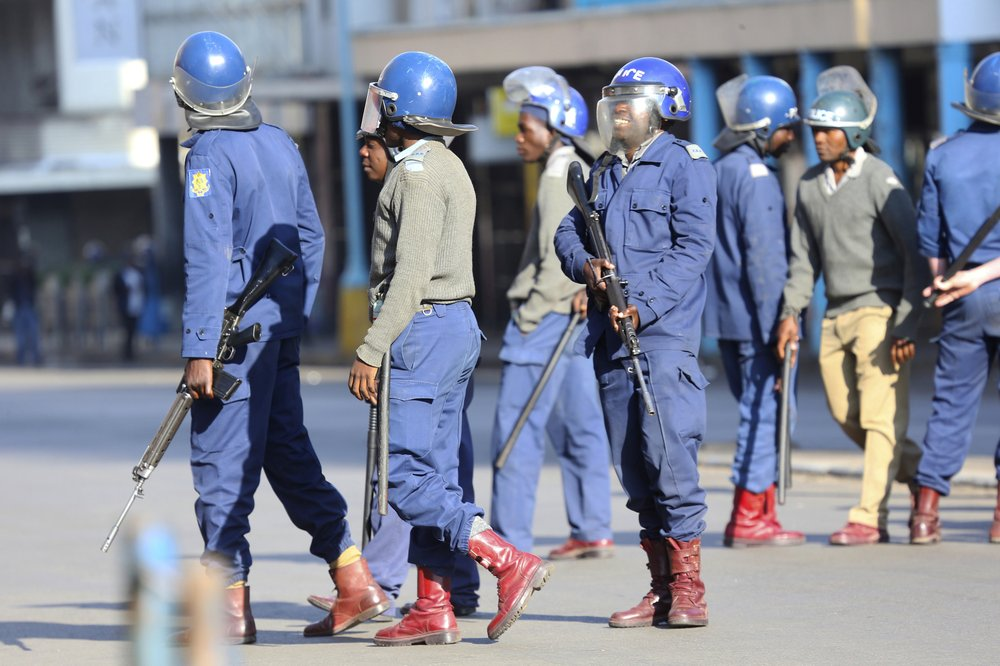 Zimbabwe police ban another protest against economic woes
