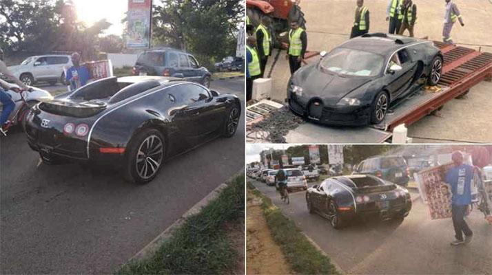 Bugatti Veyron seized in Zambia after causing a stir on social media - Nehanda Radio