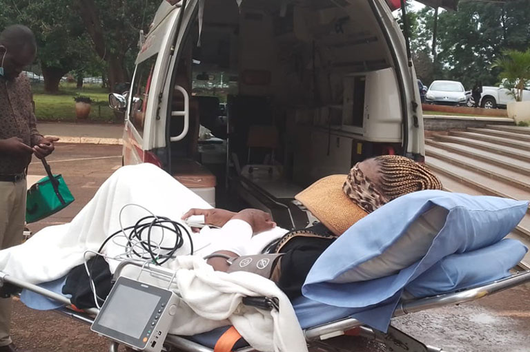 Mary Mubaiwa wheeled into court on stretcher bed in warrant drama